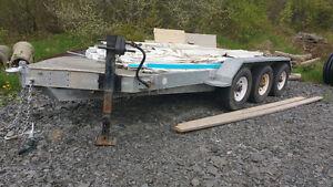 Remorque 3 essieux galvanisé