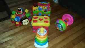 Lot of Interactive Toys