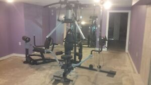 Home Gym Body-Solid G10B Bi-Angular w/ Cable Column Attachment