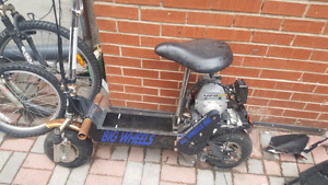 Gas Scooter needs a pull and a spark plug