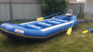 18' Zebec  Whitewater Rafting Package