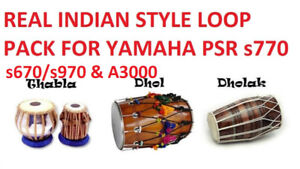 Indian Real style loop pack Yamaha psr s670/s770/s970/A3000