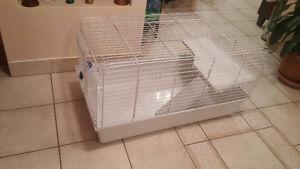 cage de lapin tres propre