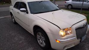 2010 Chrysler 300 Touring, 3.5L, 87,500km vanilla white Safety