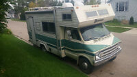 1976 Dodge 360ci dodge motorhome for sale. Many new parts.