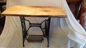 41 Inch Live Edge Singer side table Regina Regina Area image 1