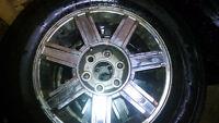 Escalade Wheels and tires