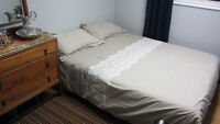 Queen Bed- Used Once