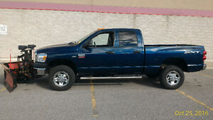 2008 Dodge Power Ram 2500 SXT Pickup Truck Snow Plow