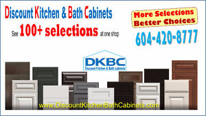 Shaker White Kitchen Cabinets Sale @DKBC 778-861-5383