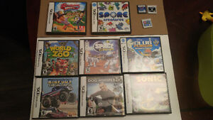 3DS and DS games, case, charger minus console