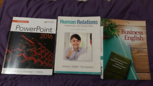 Textbooks for Office Administration General level 1 at Algonquin