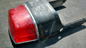 Honda DOHC CB750 Tail Light and Tail Fairing