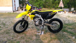 Reduced 2017 Suzuki RMX450z