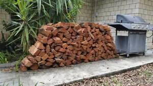 FREE DELIVERY IRONBARK FIREWOOD SPLIT READY TO BURN Brookfield Brisbane North West Preview