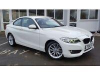 BMW 2 SERIES 218d SE (white) 2014