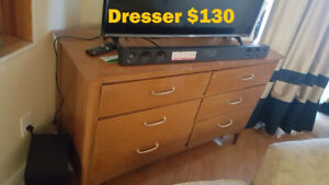6 drawer Solid Wood, Sturdy dresser / Chest of drawers