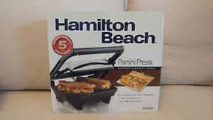 Panini Press - Hamilton Beach - Brand New - Unopened