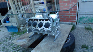 Ford 7.3 engine block coffee table