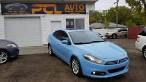 2013 Dodge Dart Limited I NAV I LEATHER I AUTO I 1 YEAR WARRANTY