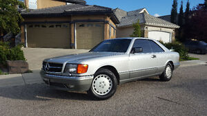1989 Mercedes-Benz 500-Series Coupe (2 door) Mint Condition