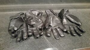 Motorcycle Gloves - Cloth and Leather