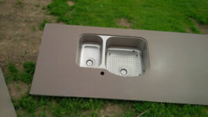 Kitchen Sink with Corriane Counter Top