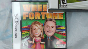 Nintendo DS game - wheel of fortune $15