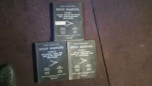 1957-1959 plymouth,dodge,chrysler,desoto SHOP MANUALS