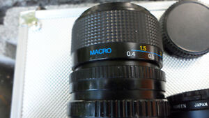 6 35mm Camera Lenses Various Mounts $60 All. Unknown mounts... Prince George British Columbia image 5