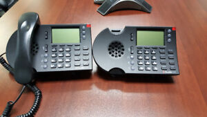 2 Shoretel ShorePhones IP 230 Excellent Condition