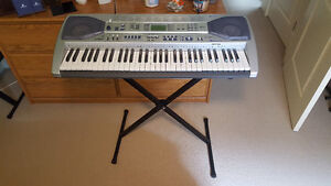 Casio LH-90TV Keyboard with Peddle and Adapter