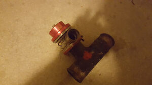 """Blow Off Valve with 2"""" Adapter Pipe"""