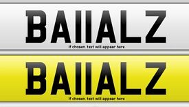 BA11ALZ private number plate for sale