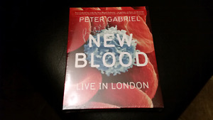 Peter Gabriel Live In London bluray SEALED