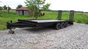 9Ton Triaxle Deck over Float