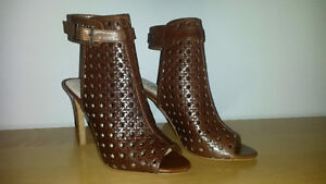 Vince Camuto Brown Leather