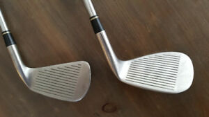 Left Handed Titleist DCI 962 Sand Wedge and Driving Iron