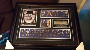Autographed Johnny Bower Maple Leafs