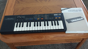 1986 Realistic Concertmate 500 comes with manual