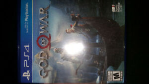 GOD OF WAR PS4 PERFECT CONDITION $50