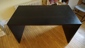 Ikea Mikael Desk used as kitchen table