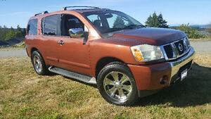 2004 Nissan Armada LE 4x4 – Fully Loaded