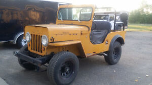 1952 Civilian Jeep willys