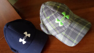 2 under armour youth hats