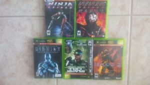 Exbox Games-  Excellent condition- starting at $20