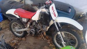 Yamaha yz80  (needs top end rebuilt)