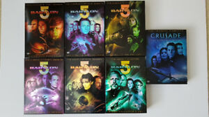 Babylon 5: Complete Series Plus Movie/Crusade Collection DVDs
