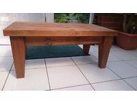 Chunky Bespoke Solid Pine Coffee Table