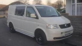 Volkswagen Transporter T5 1.9 TDi SWB * Kombi seats * Rock & roll bed NO VAT